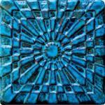 3-D tiles for sculptural effect
