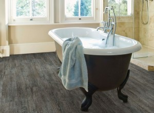 US Floors COREtec Plus engineered luxury vinyl. Water proof!