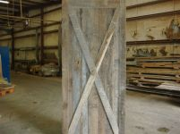 Barn Doors. Reclaimed and popular in rustic as well as contemporary settings.